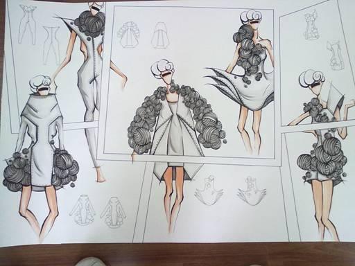 服装设计课程优秀作业-艺术设计与建筑学院