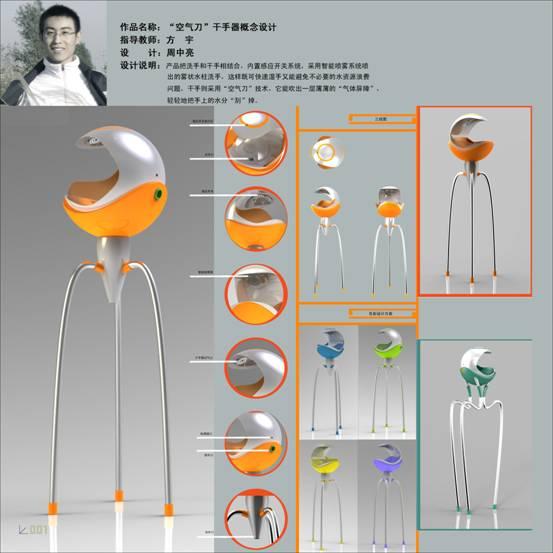 2011届工业设计专业优秀毕业设计作品-艺术设计与