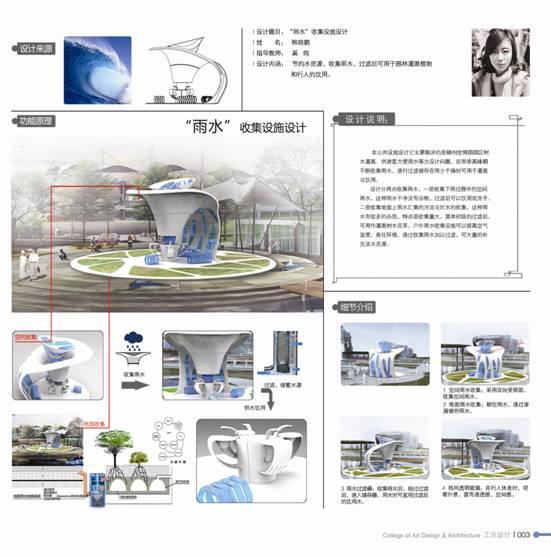 2013届工业设计专业优秀毕业设计作品-艺术设计与建筑